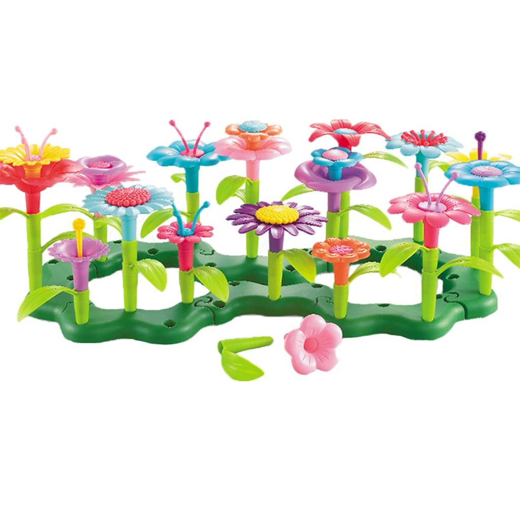 Haushalts-spielzeug Bouquet Floral Anordnung Garten Pädagogisches Entwicklung Floral Spielzeug Spielset Für Kinder Kleinkinder Jungen Gilrs Sammeln & Seltenes