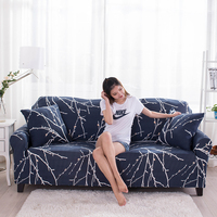 Hot Selling Modern Printed Slipcovers Anti skid All inclusive Elastic Funiture Couch Cover Single/Loveseat/Recliner Sofa Covers