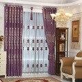 O novo Europeus chenille bordado cortina com alta precisão de alta-grade cashmere jacquard cortina para sala de estar