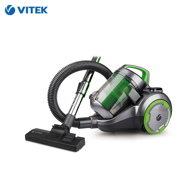 Vacuum Cleaner Vitek VT-1894 for home cyclone Home Portable household dustcontainer canister vacuum cleaner for home puppyoo p9 aspirator powerful suction 2200w cyclone portable household cleaning appliances