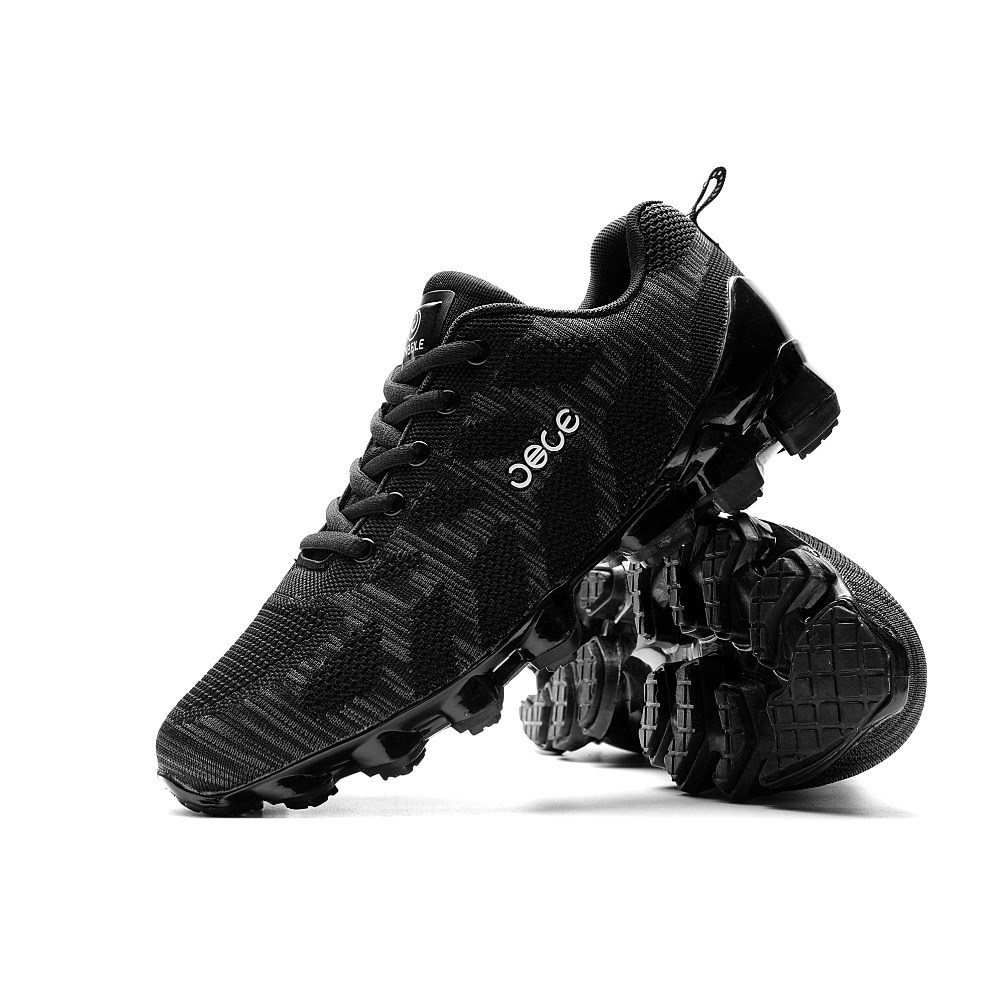 Sneakers Men Outdoor Running jogging Walking Sports Shoes Jinbe Brand Lace-up Athietic Breathable Mesh Male Sneakers