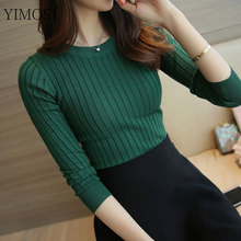 Autumn Winter Women Sweater 2018 New High Elastic Turtleneck Pullovers Female Solid Color Knitted Sweater Lady Slim Tops