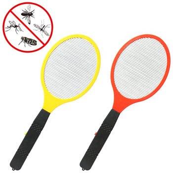 Matamoscas eléctrico multifunción LED, matamoscas, matamosquitos, matamoscas, matamosquitos, sin batería
