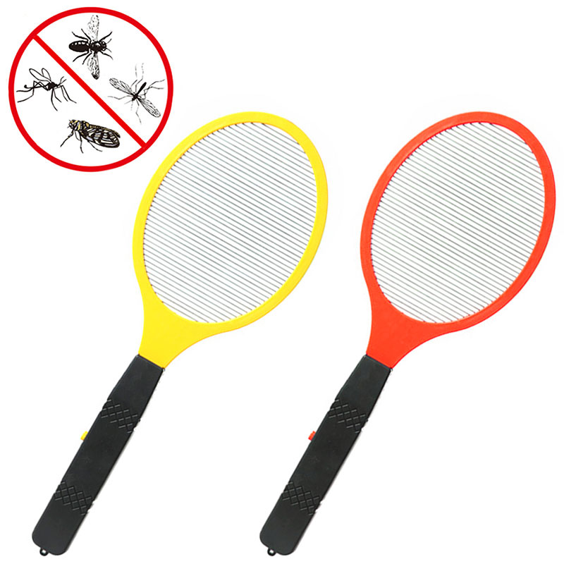 Multifunction Electric LED Mosquito Swatter Fly Swatter Bug Killers Racket Mosquito Killer Anti-mosquito Shoot Without Battery