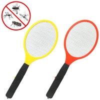 Çok fonksiyonlu elektrikli LED sineklik sinek Swatter Bug Killer raket sivrisinek katili anti sivrisinek ateş pil olmadan|Sinek kovucu lamba|Ev ve Bahçe -