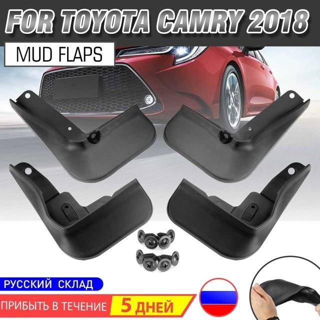 For Toyota Camry 2018 2019 Car Fender Flares Mud Flaps Mudguards Mudflaps Splash Guards Accessories