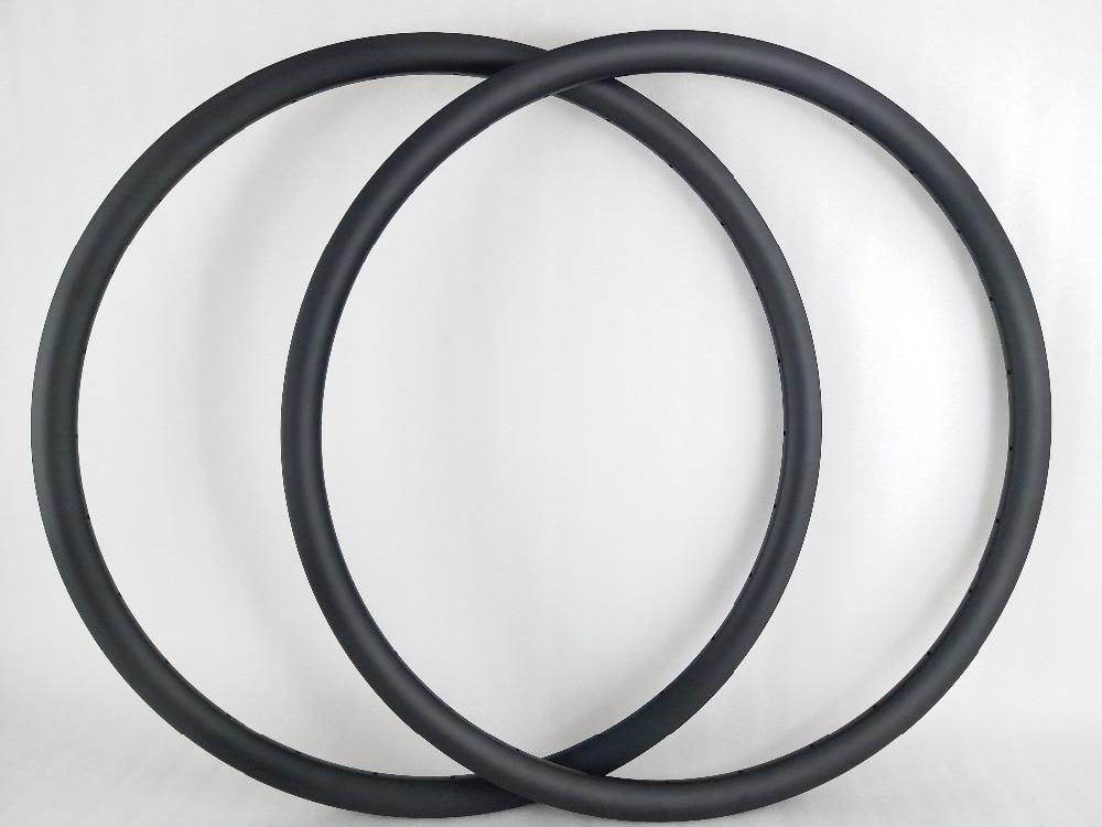 29er MTB XC 30mm hookless clincher tubeless carbon rims 30mm depth UD matte 28 holes FOR