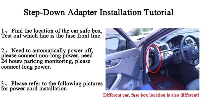 FHD 1080P car camera 4.3-inch Mirror Rearview screen dual lens Car DVR Night Vision rearview mirror auto dvrs Stop Recording 31
