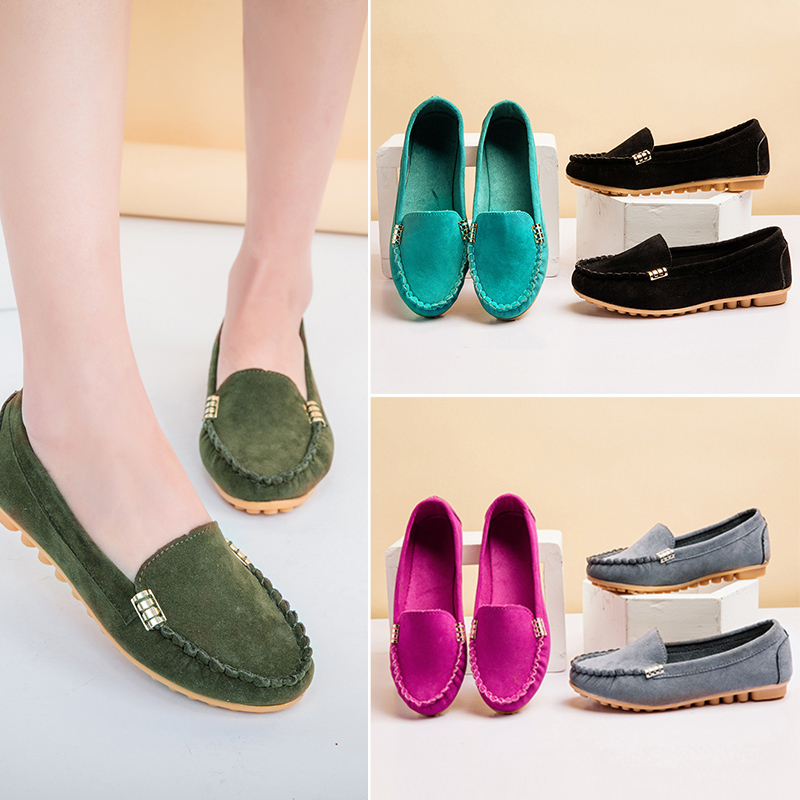 5f50dd8d04321 ... 35-43 Women Flats Slip on Flat Shoes Black Boat Shoes Big Size Woman  Shoes Ladies Loafers Casual Shoes zapatos mujer. -33%. Click to enlarge