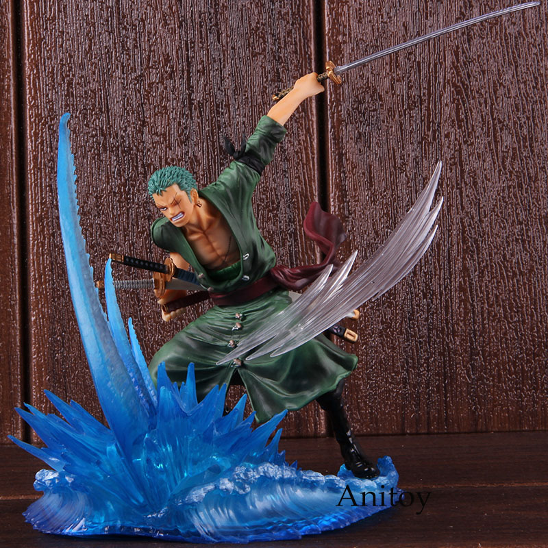 Hot Toys Anime One Piece Roronoa Zoro Action Figure Fighting Collectible Model Toy GiftHot Toys Anime One Piece Roronoa Zoro Action Figure Fighting Collectible Model Toy Gift