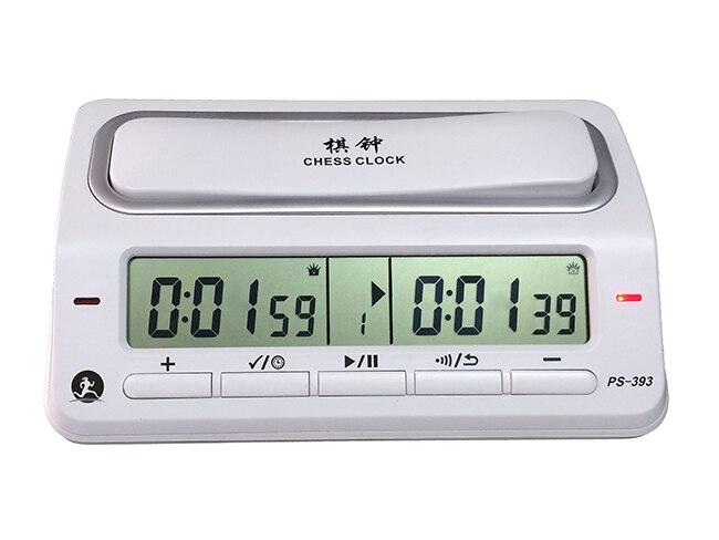 Professionnel Compact Numérique Électronique Échecs Horloge Jeu Minuterie 39 Modes de Synchronisation pour D'échecs I-GO Chinois Jeu D'échecs Minuterie