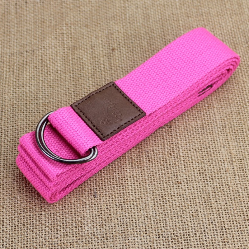 240cm D Ring hebilla correa de Stretching correa figura cintura pierna gimnasio Yoga strap belt in Women 39 s Belts from Apparel Accessories
