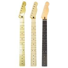 FLEOR 1 шт. качество 22 Лады для гитары шеи Электрогитара шеи канадский клен для FD Теле стиль запасные части для гитары