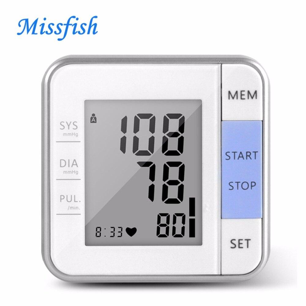 Missfish tensiometer for home healthcare medical equipment wrist digital blood pressure sphygmomanometer monitor meter
