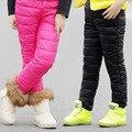 Engrossar Quentes Calças de Inverno Para Meninas Crianças Roupas de Algodão Calças À Prova de Vento Leggings meninas Crianças Roupas 4 6 8 10 11 12 Anos