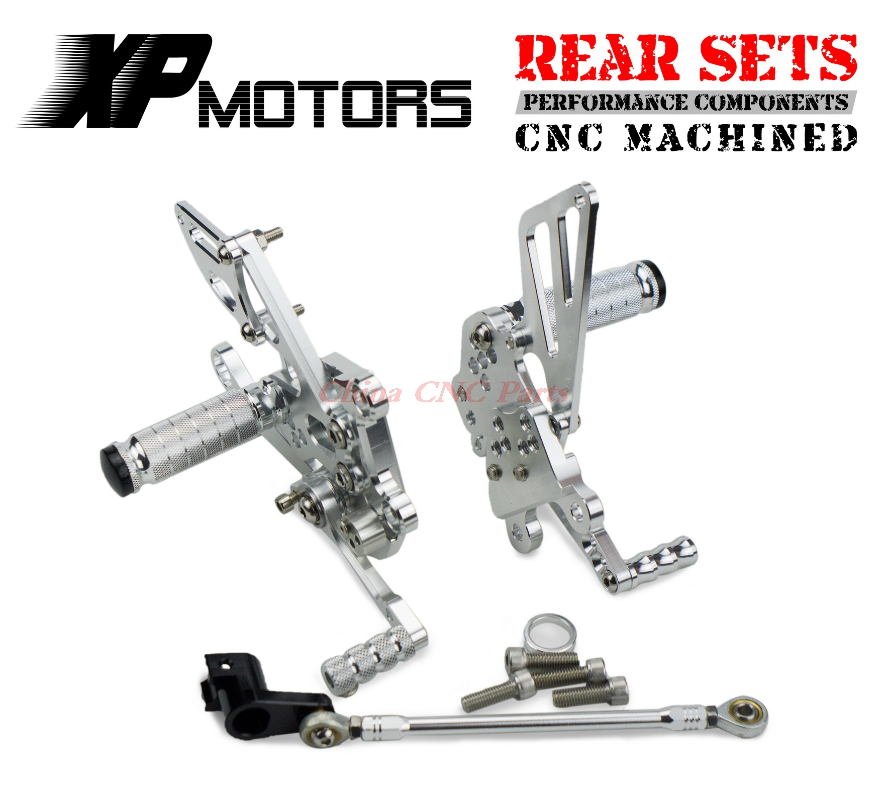 NICECNC Racing Adjustable Rearset Rear Sets Foot pegs For