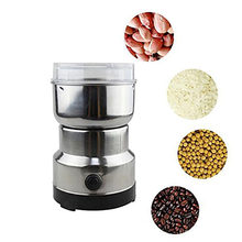 Multifunctional EU Plug Coffee Grinder Electric Cafe Stainless Steel Herbs/Nuts/Grains/Coffee Beans Grinding Spice Grinder(China)