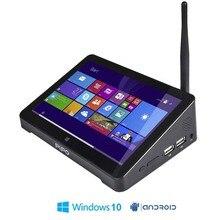 New PIPO X8 Dual HD Graphics TV BOX Windows 10  Android 4.4 Intel Z3736F Quad Core 2GB/32GB Tv Box 7 Inch Screen Tablet  Mini Pc