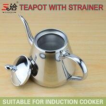 Новый стиль нержавеющей стали Чайник и Кофеварка Капельного Чайник горшок чайник с фильтр или фильтр маленький Чайник горячей воды для бариста