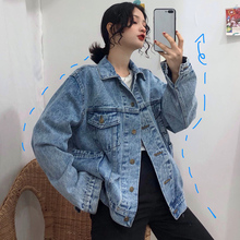 Cheap wholesale 2019 new Spring Autumn Hot selling women's fashion casual Denim Jacket