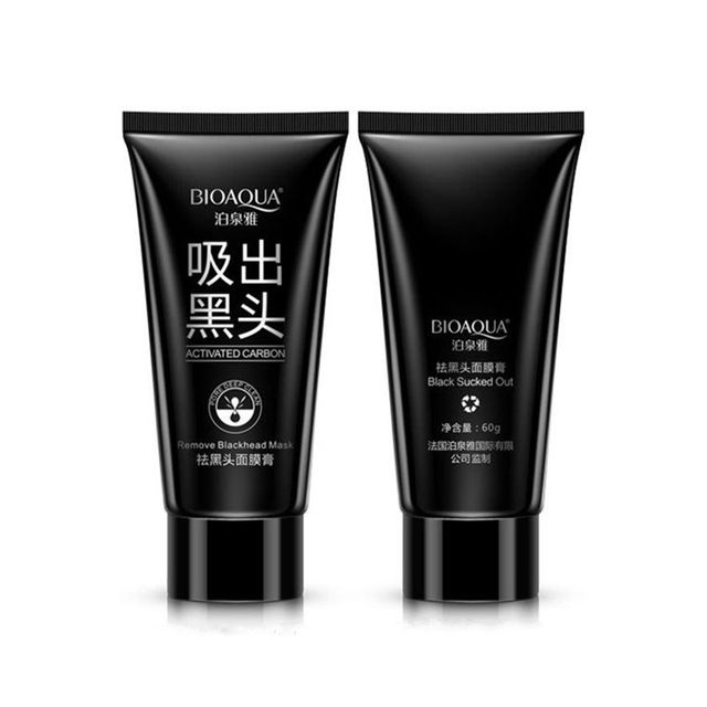 Face Care Suction Black Mask