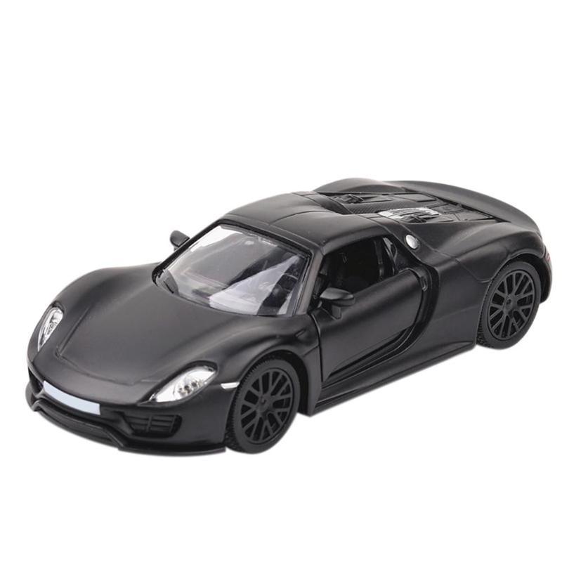 Alloy Sports Car Model Kids Simulation Vehicle Car Toys Kid Boys Toys Gift Cake Decor Children Educational Toys