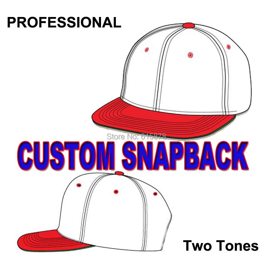 44f50f868b768 2018 Cheap Custom Plain Blank Solid Snapback Hats Classic 2 Tones Hats Flat  Bill Hats Wholesale Free Shipping