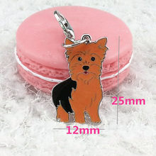 Dog Tag Disc Disk Pet ID Enamel Accessories Collar Necklace Pendant Safety Pin Whit Bell Pets Acessories Collar For Dog #13(China)