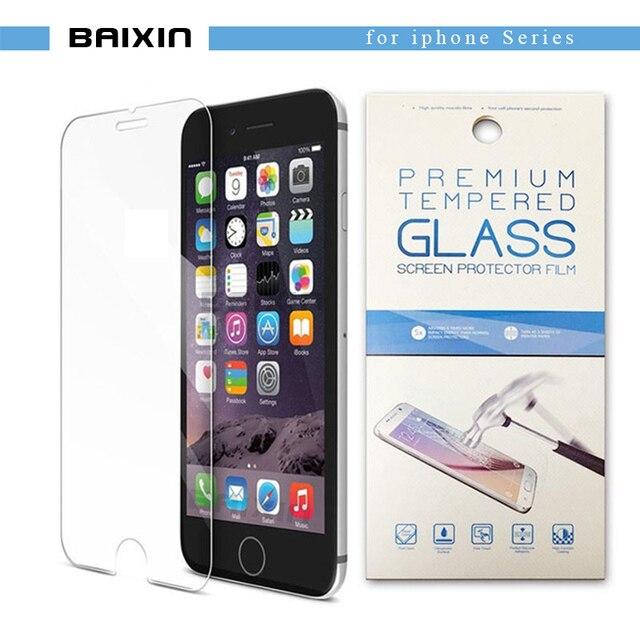 """Gehärtetem glas für iphone 4 s 5 5 s se 6 6 s 7 toughened schutz displayschutzfolie für iphone 6 s plus 7 plus 5,5 """"+ kleinpaket"""