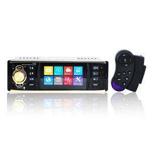Image 1 - 4019b1Din 12 볼트 4.1 인치 라디오 튜너 BT MP4/MP5 차량 플레이어 MP5 다기능 플레이어 BT MP3 플레이어