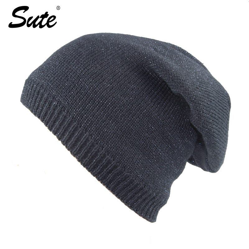 sute Knitted Hat Skullies Beanies Men Winter Hats For Men Women Bonnet Fashion Caps Warm Baggy Soft Brand Cap Mens Casual M-368 2017 new lace beanies hats for women skullies baggy cap autumn winter russia designer skullies