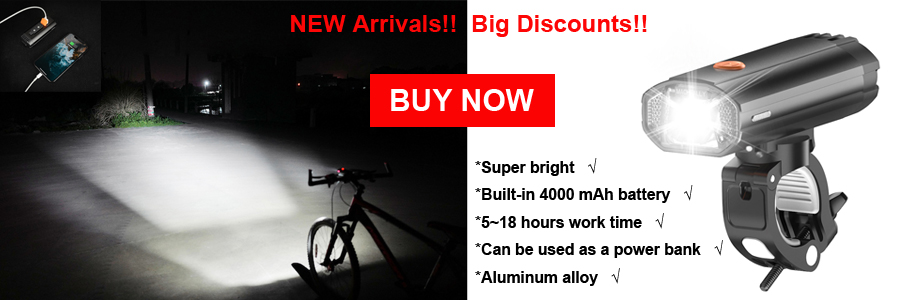 Induction Bicycle Front Light, Set USB Rechargeable, Smart Headlight With Horn 800 Lumen, LED Bike Lamp Cycle FlashLight 12