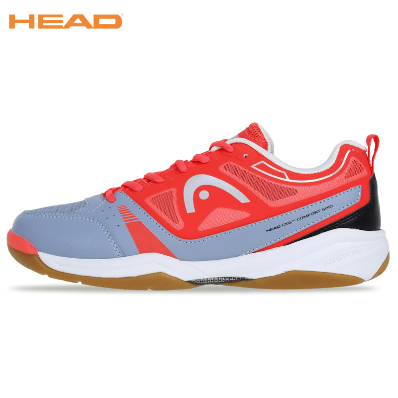 HEAD Top Quality Badminton Shoes For Men Women Tennis Shoes Shock-Absorbant Training Sneakers Men Professional Badminton Shoes 100% original kawasaki badminton shoes men and women badminton training shoes whirlwind series k 515 516