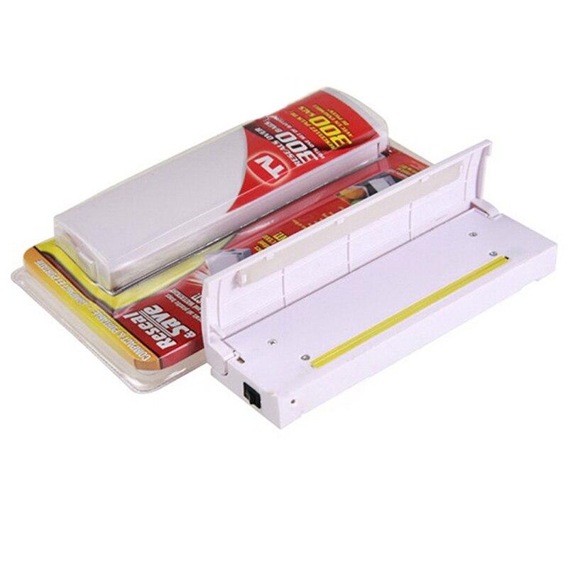 Practical electronic Mini Bag Clips Plastic Food Flesh Storage Saver Bag Heat Seal Reseal Sealer Kitchen Cooking Tools Gadget VC