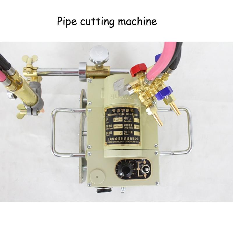 Aletler'ten Makine Merkezi'de Boru hattı Gaz Kesici Boru Oluk Makinesi Yarı Otomatik yalazla kesme makinası Manyetik Boru Kesme Aletleri 20 kg CG2 11 title=