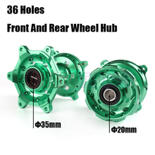 Motorcycle Front Rear Complete Billet CNC Wheel Hubs For KAWASAKI KX125 KX250 2006-2008 KX250F KX450F KX 125 250 250F 450F
