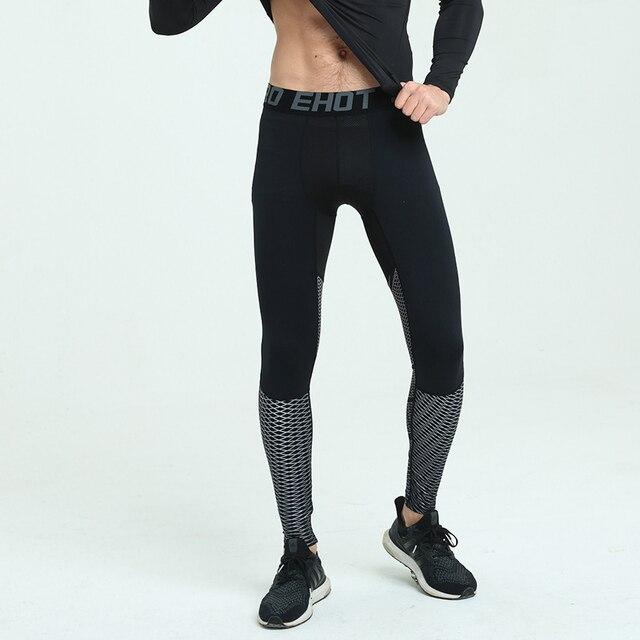 Sportlegging Mannen.Mannen Compressie Broek Sport Legging Basketbal Leggings Mannen