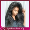 High quality full lace wig free part off black1b#natural straight with adjustable straps&glueless lace front wig combs baby hair