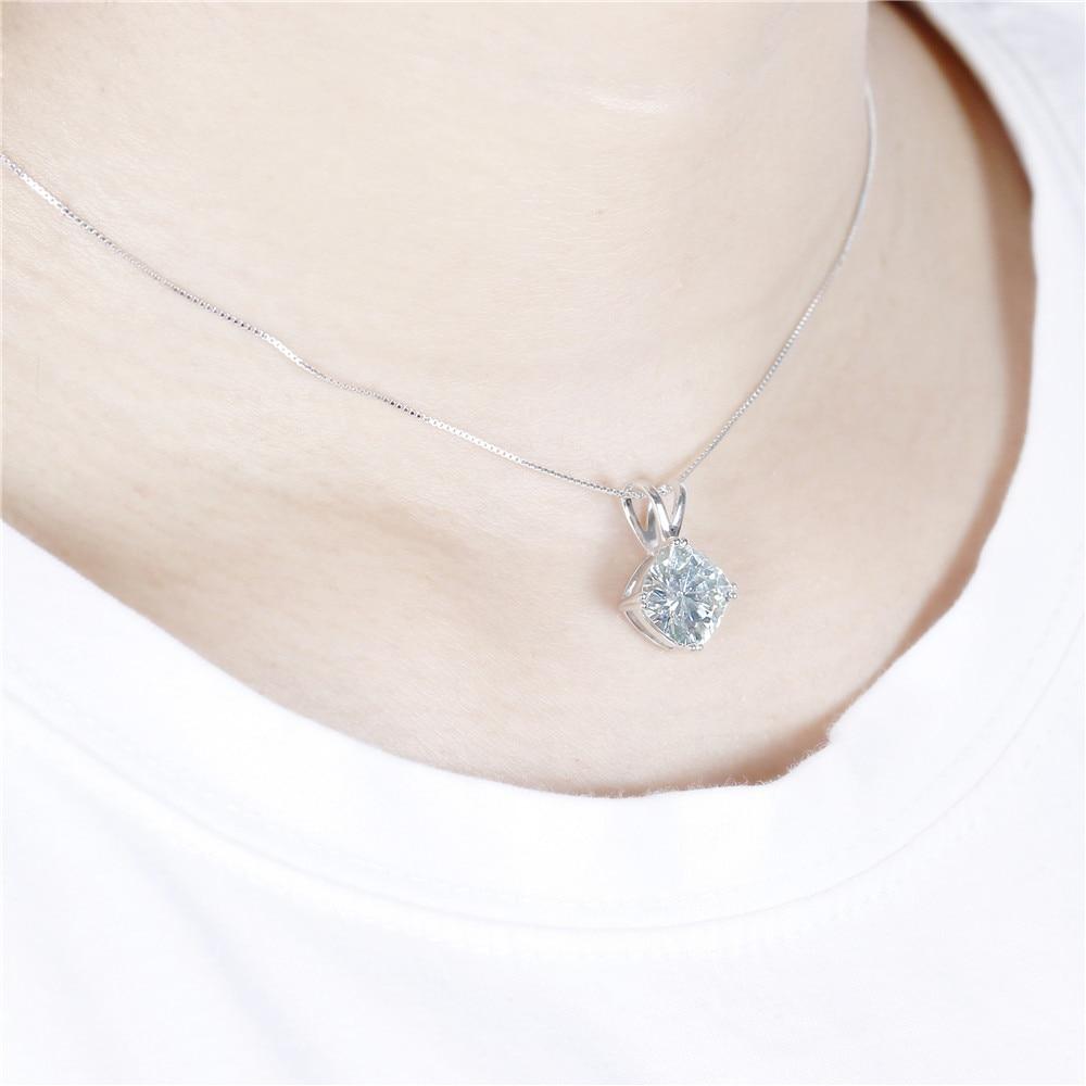 moissanite pendant- silver necklace (8)