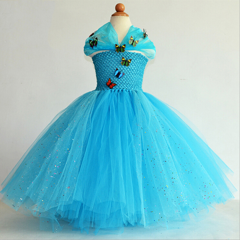floor length baby girl pageant dresses new sequin butterfly strapless ball gown tutu princess girls party dress for wedding floor length ball gown flower girls dresses sleeveless baby girl pageant dresses sequins tutu princess dress for wedding costume