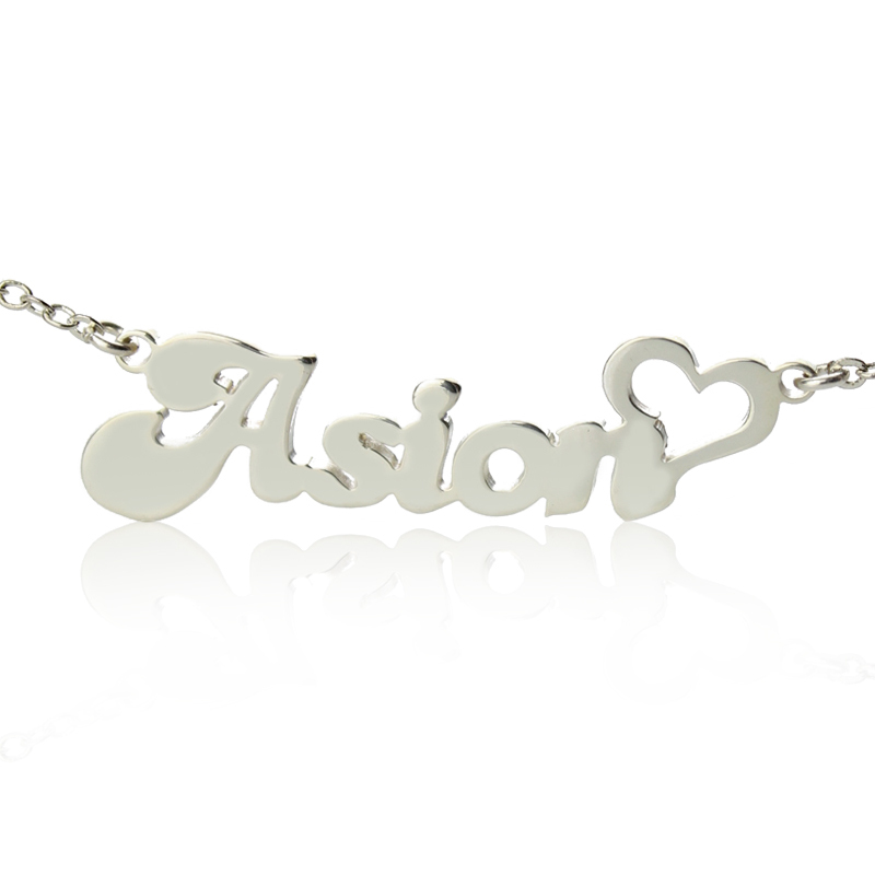 Wholesale sterling silver name necklace personalized for Sterling silver christmas jewelry