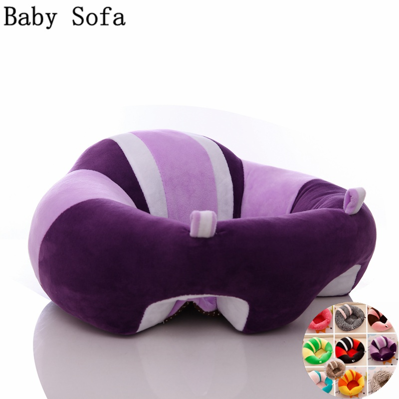Baby Seats Sofa Feeding Chair Children High Chairs Puff Seat Bedding Infant  Nest BeanBag Inflatable Armchair