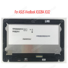 LCD Display Panel Screen Monitor Touch Screen Digitizer Glass Assembly with frame For ASUS VivoBook X102BA X102 B101XTN01.1