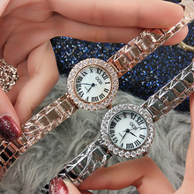 Hot New Women Watch Graceful Elegant Female Fashion Waterproof Rhinestone Watches Lady Diamond Dress Watch Women