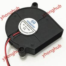 Emacro For HB5015H12S-X DC 12V 0.18A 50x50x15mm 2-Wire Server Blower Fan