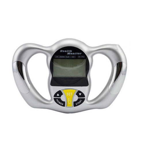 handheld fat loss analyzer monitor body weight loss bmi kcal tester