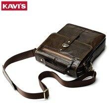100% Cowhide Genuine Leather Shoulder Bag Messenger Bag