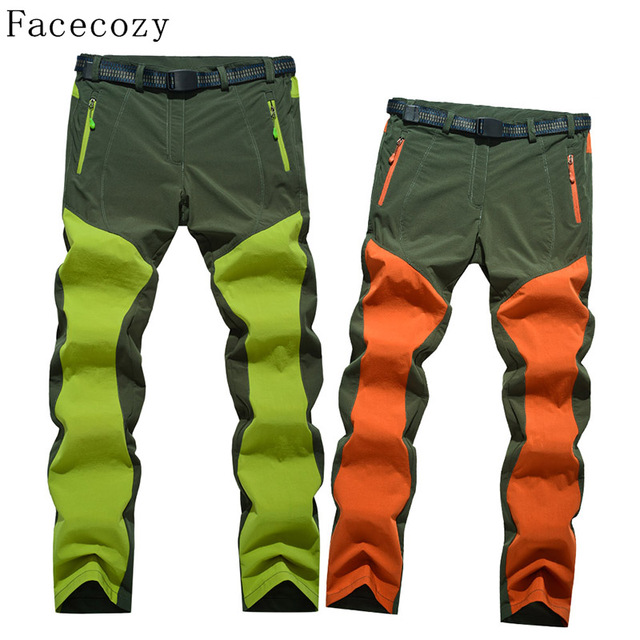Facecozy Women&Men Summer Outdoor Hiking&Fishing Pant Ultralight Quick Dry Sport Hunting&Trekking Trousers