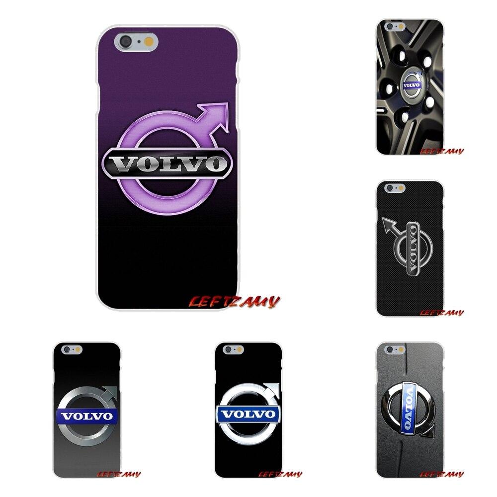 Роскошный автомобиль Volvo Логотип аксессуары телефон оболочки чехлы для Motorola <font><b>Moto</b></font> G LG Spirit G2 <font><b>G3</b></font> мини G4 G5 K4 k7 K8 K10 V10 V20 V30