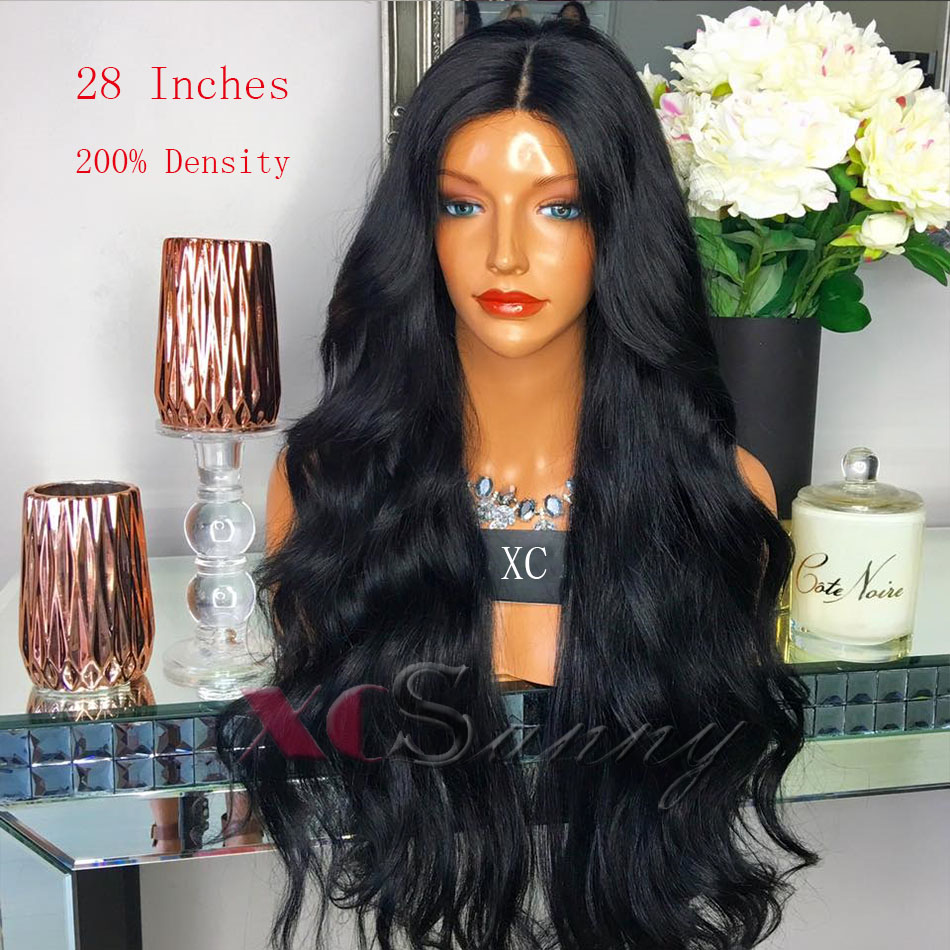 200% 26  Inch Long Human Hair Lace Front Wigs Black Women Wet Wavy Wigs  16inches Bob Lace Front Wigs Wet And Wavy Full Lace Wigs 2dc2ee1e83